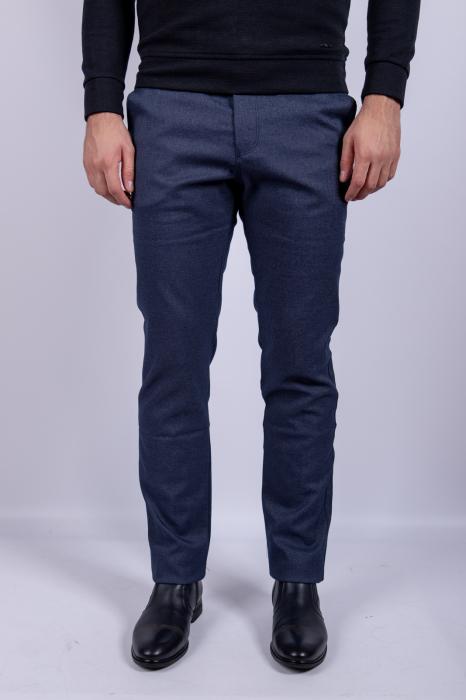 Pantaloni casual BLUE  de barbati 0