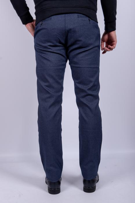 Pantaloni casual BLUE  de barbati 4