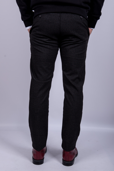 Pantaloni DARK GRAY casual de barbati 4