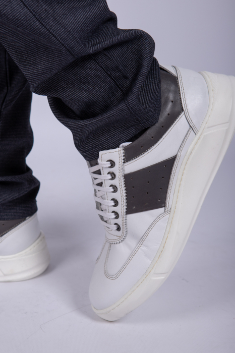 Pantofi WHITE sport de barbati 4