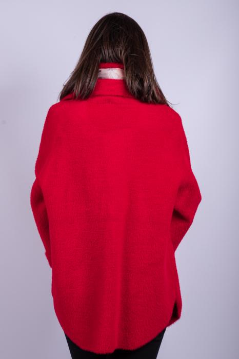 Poncho dama RED 3
