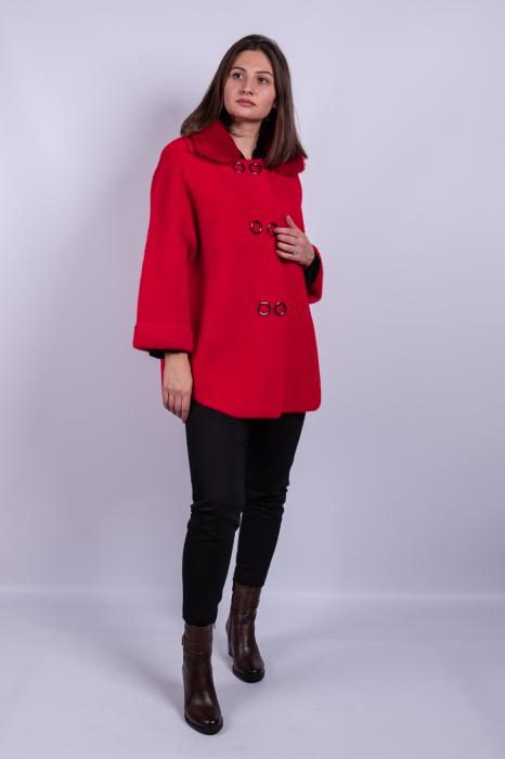 Poncho dama RED 0