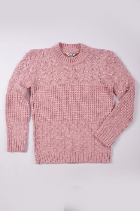 Pulover LOLA de culoare roz [1]