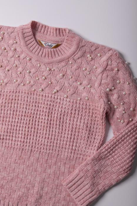 Pulover LOLA de culoare roz [2]
