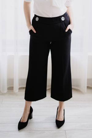 Pantaloni Evazati0