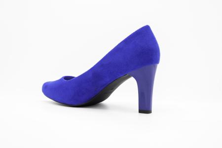 Pantofi office din piele intoarsa BLUE [1]