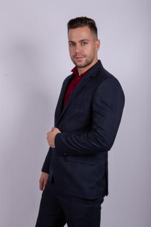 Costum PLAID Business  pentru barbati2