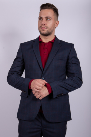 Costum PLAID Business  pentru barbati1
