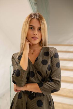 Rochie DOTS de dama3
