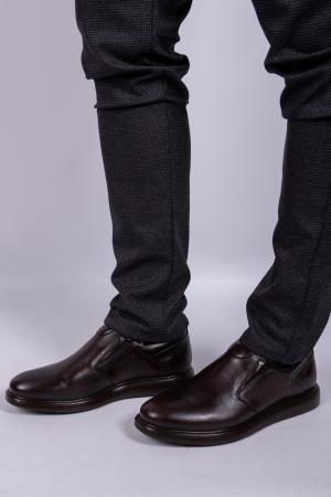 Pantofi BROWN de barbati din piele1