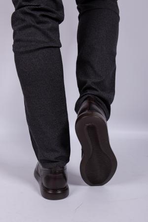 Pantofi BROWN de barbati din piele3