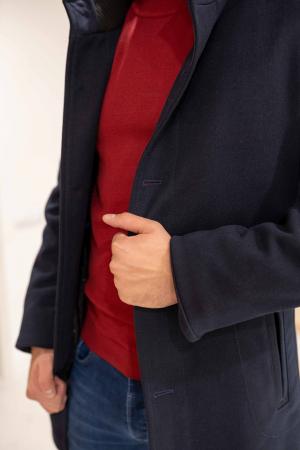 Palton RIBBED elegant pentru barbati2