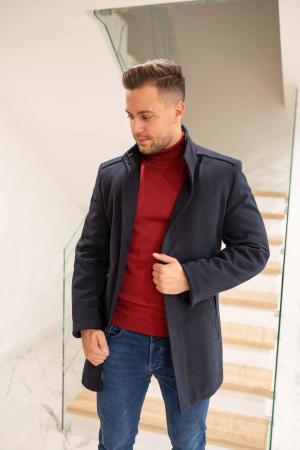 Palton RIBBED elegant pentru barbati0