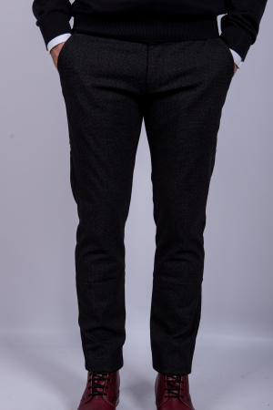Pantaloni DARK GRAY casual de barbati0