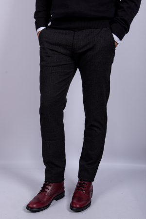 Pantaloni DARK GRAY casual de barbati1