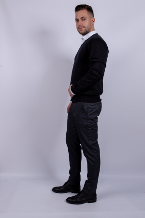 Pantaloni POCKET de barbati  gri2