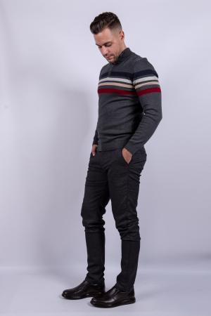 Pantaloni de barbati GRAY2