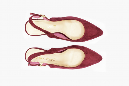 Pantofi office din piele intoarsa LYLAC [3]