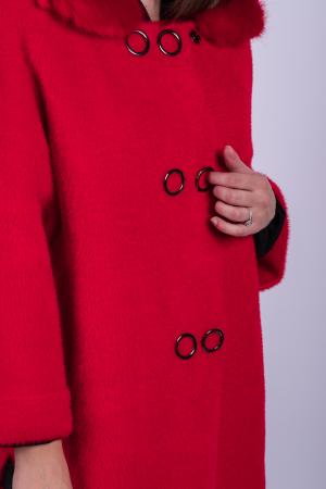 Poncho dama RED1