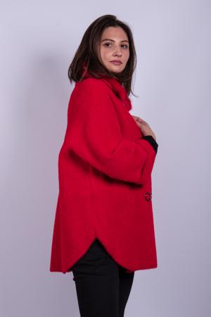 Poncho dama RED2