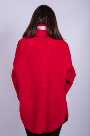 Poncho dama RED3