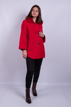 Poncho dama RED0