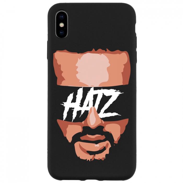 Husa telefon Hatz Face Negru Mat 0