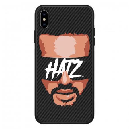 Husa telefon Hatz Face Negru Carbon0