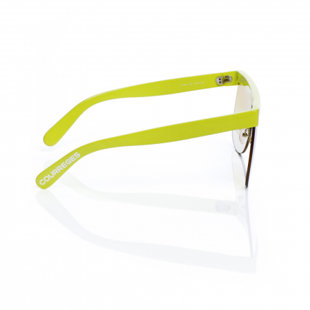 Ochelari COURREGES - THE MASK - yellow