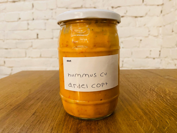 Hummus cu ardei copt 500 gr 2