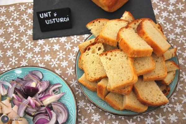 Pâine cu unt și usturoi 500 gr 0