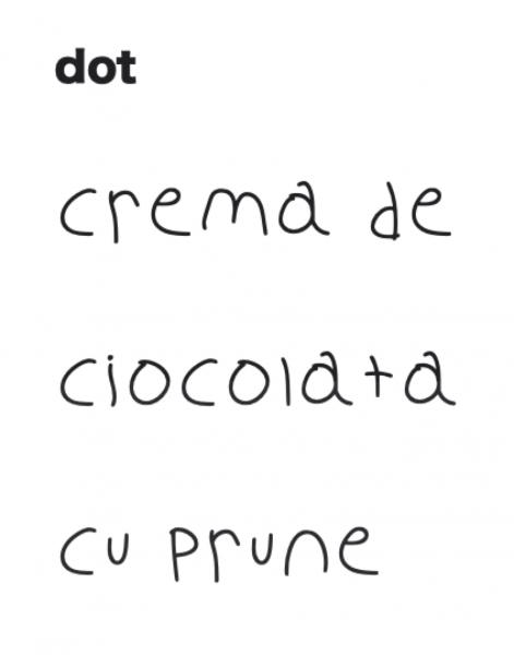 Cremă de ciocolată cu prune 180 gr 1