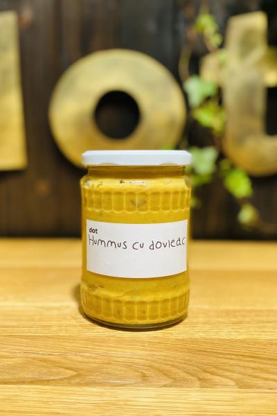 Hummus cu dovleac copt 450 gr 0