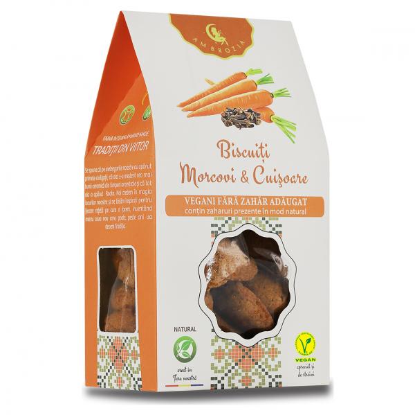 Biscuiți Vegani morcovi & cuișoare, 150 g 0