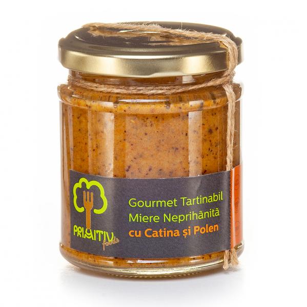 Gourmet tartinabil cu cătină și polen, 245g [0]