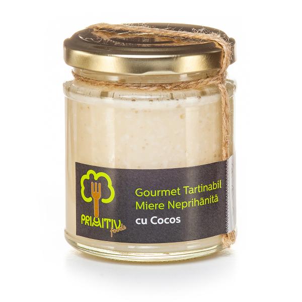 Gourmet tartinabil cu cocos, 230g 0