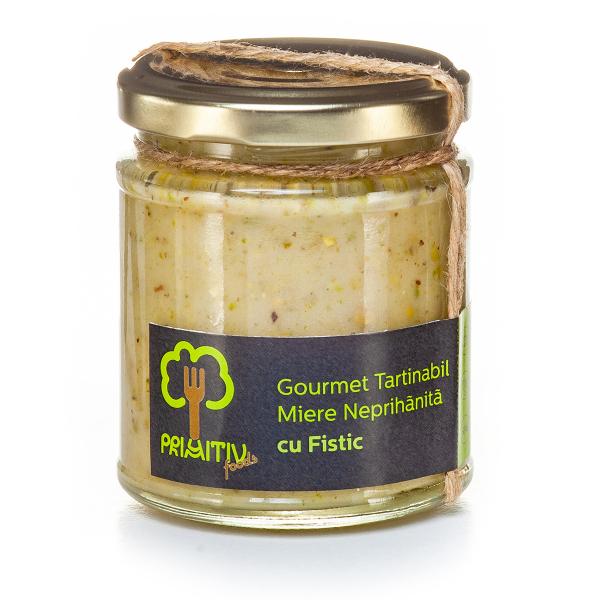 Gourmet tartinabil cu fistic, 240g 0