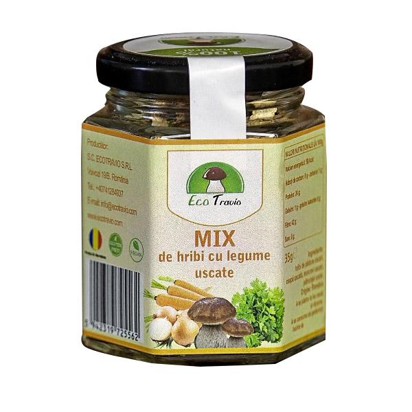 Mix de hribi cu legume uscate, 35g 0