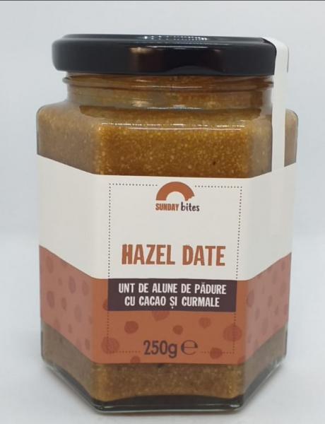 Unt de alune de padure cu cacao si curmale, 250 gr [0]