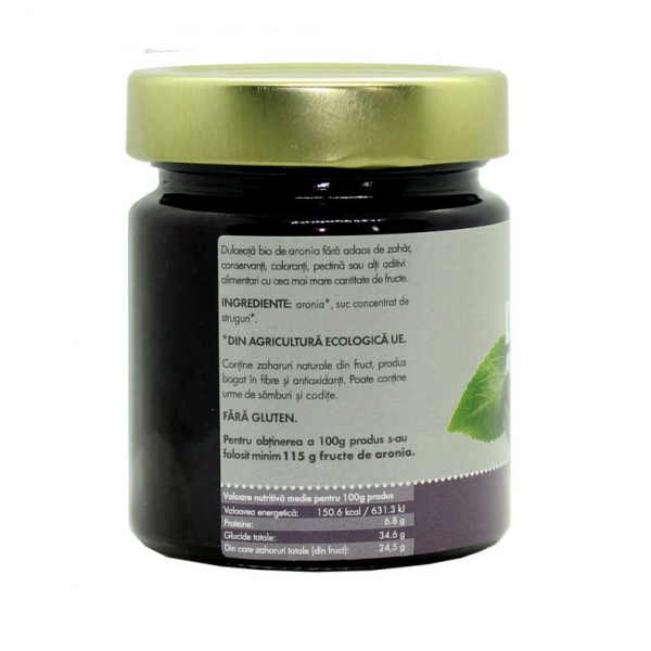 Dulceata BIO din fructe de aronia 1