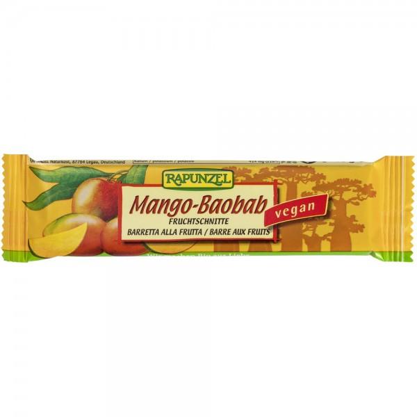Baton de fructe cu Mango si Baobab bio, 40g 0