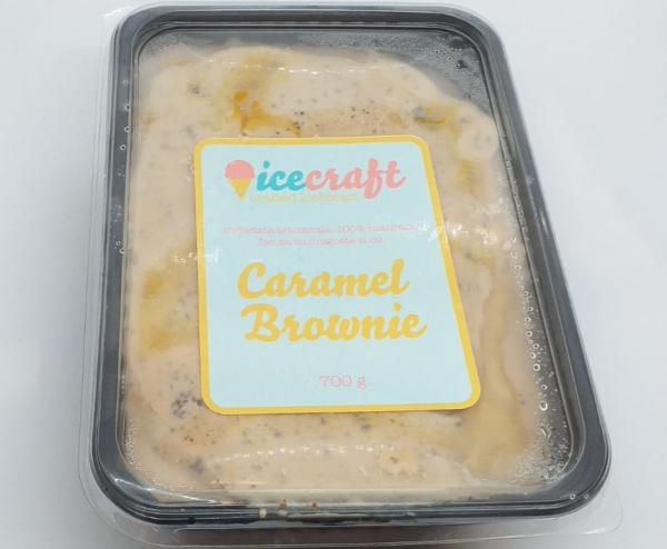 inghetata artizanala Caramel Brownie, 100% naturala [1]