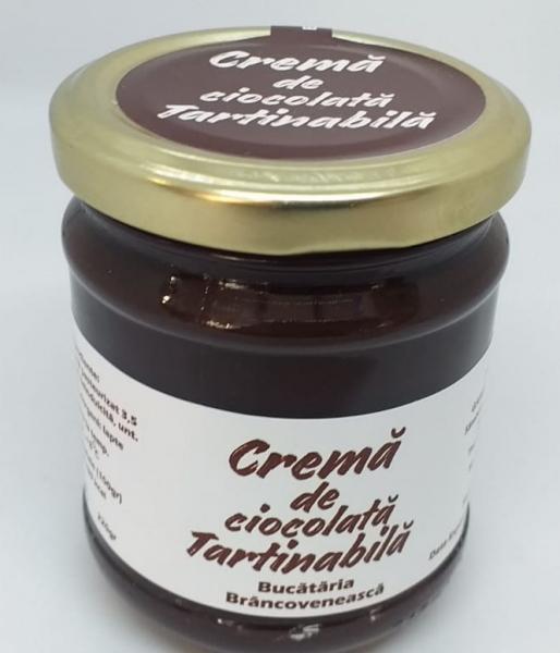 Crema tartinabila de ciocolata, 220 gr 0