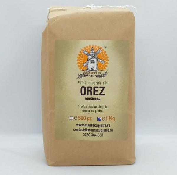 Faina integrala din orez, FARA GLUTEN, 1 kg [0]
