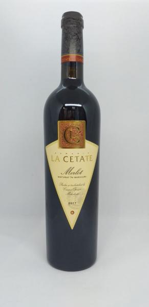 Vin Merlot La Cetate 0