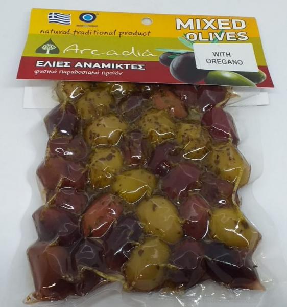 Masline asortate cu oregano, 200 gr 0
