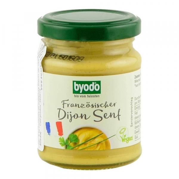 Mustar Dijon Bio, fara gluten, 125ml 0