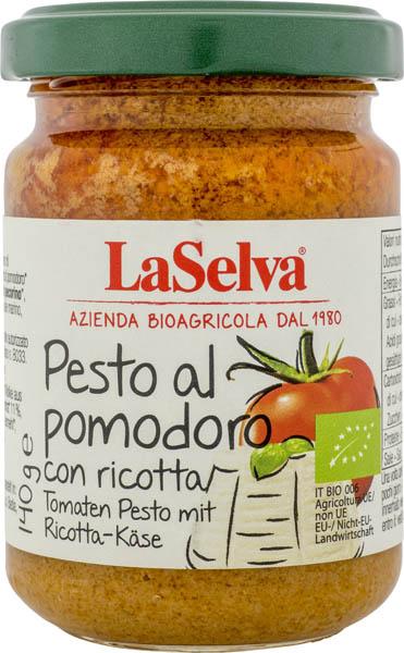 Pesto rosso cu ricotta Bio, 140 gr 0