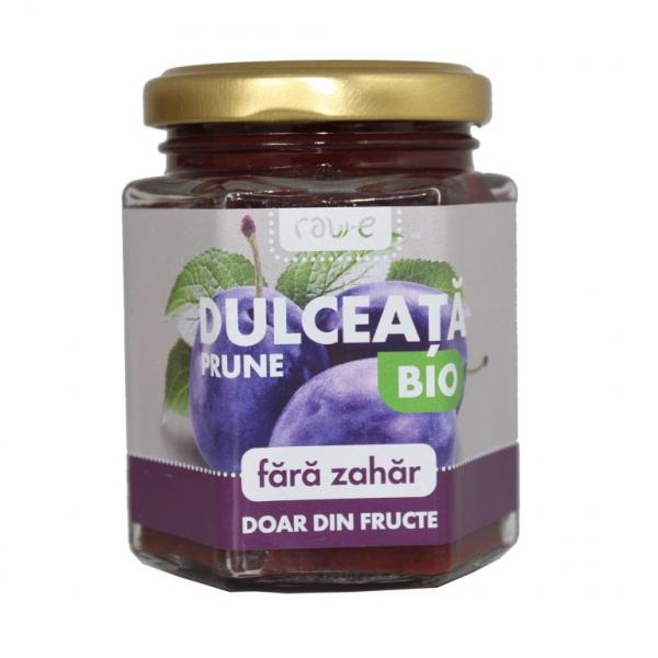 Dulceata de prune Bio, fara zahar, 200g [0]