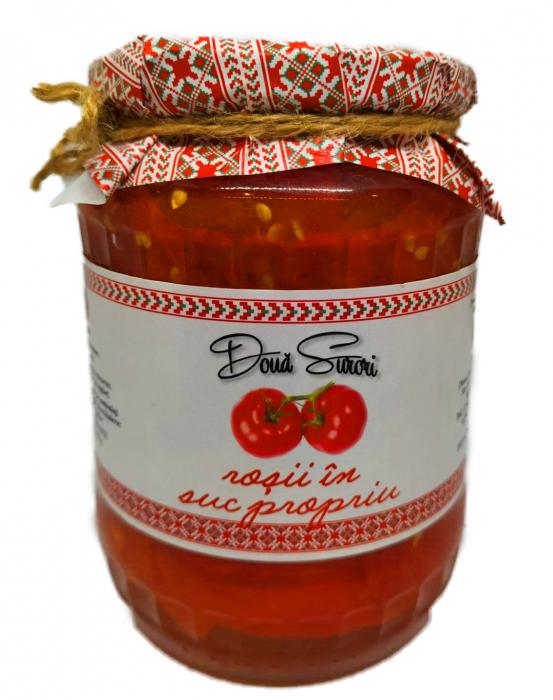 Rosii in Suc Propriu, 650 gr [0]